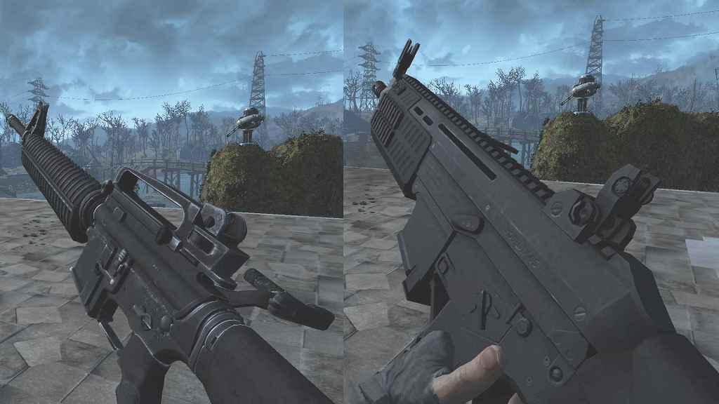 Мод Fallout 4 — Новая анимация перезарядки оружия