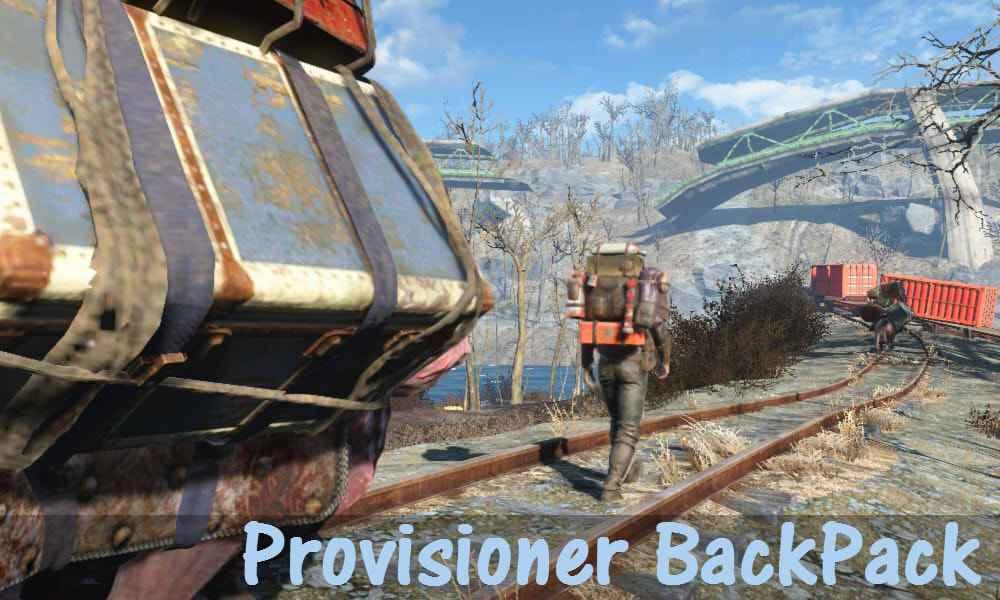 Мод Fallout 4 — Рюкзак снабженца