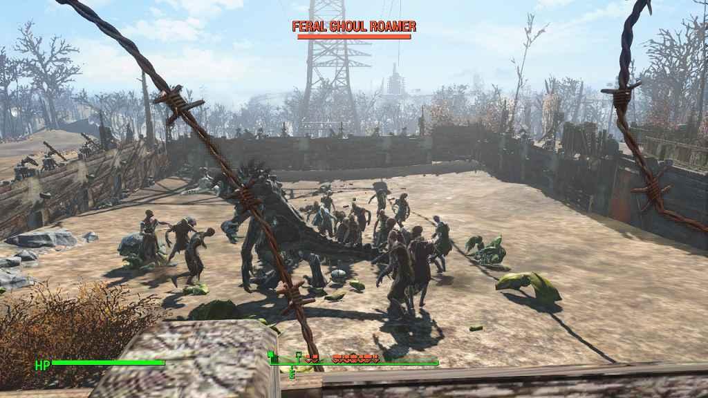Мод Fallout 4 — Точка респауна врагов