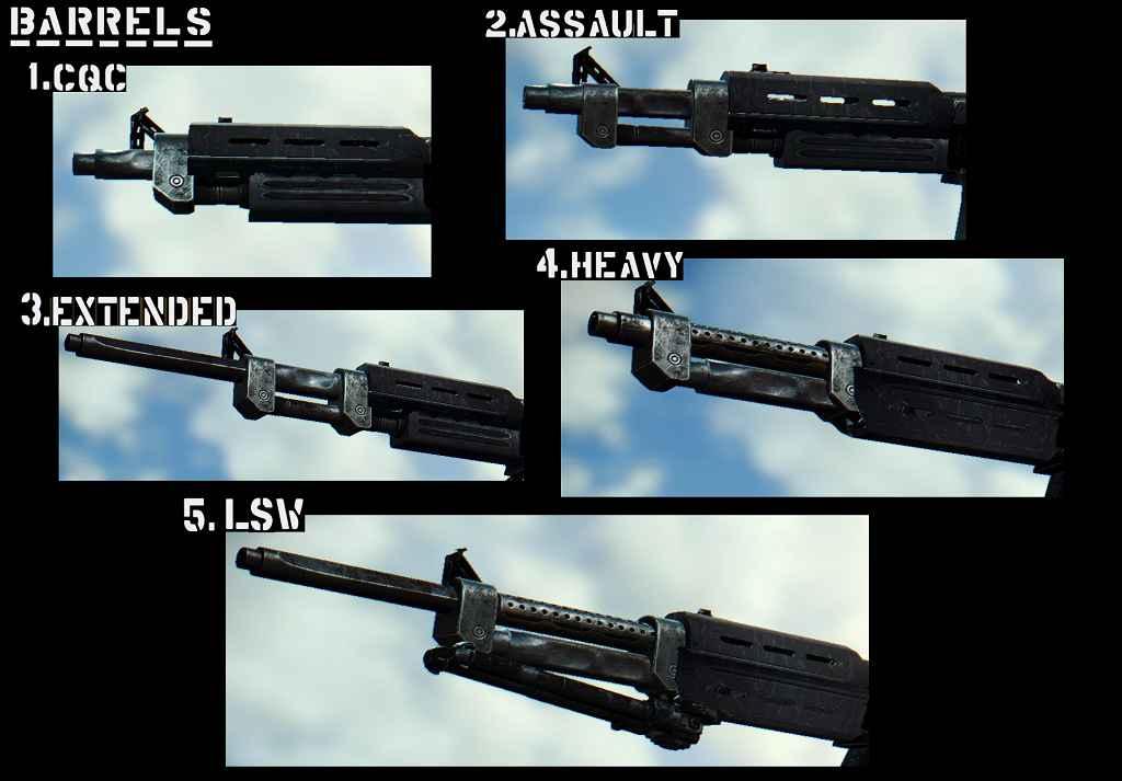 Мод Fallout 4 — Винтовка IF-54