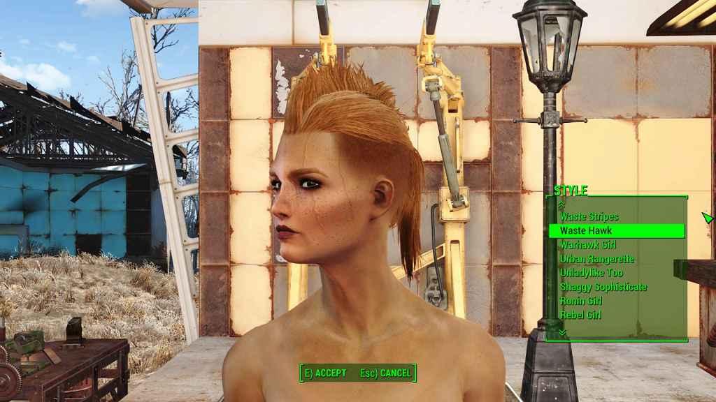 Мод Fallout 4 — Более 100 новых причесок