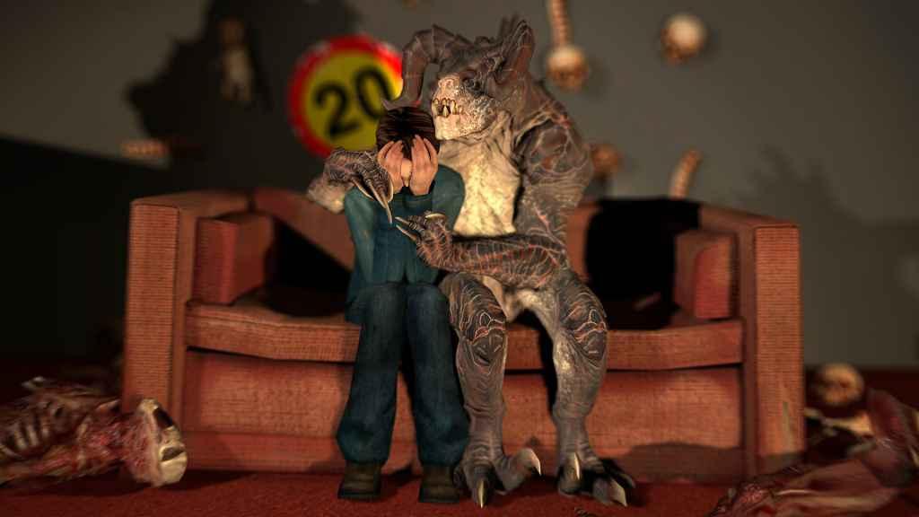 Мод Garrys mod 13 — Модель для игрока и NPC Коготь смерти из Fallout 4