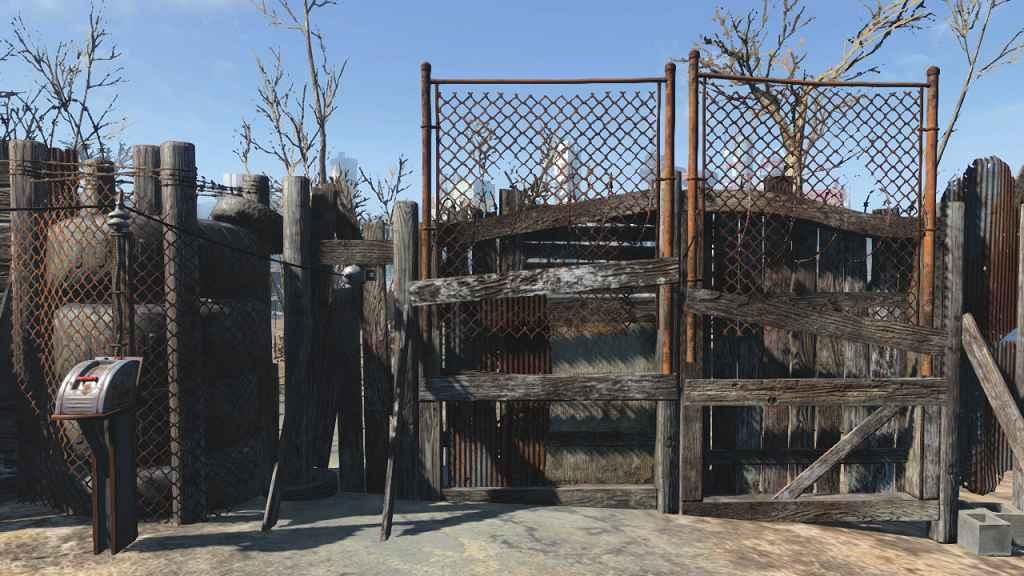Fallout 4 — Двери с приводом