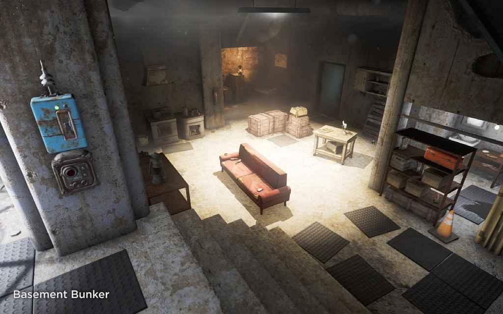 Мод Fallout 4 — Бункеры / Подвалы для игрока