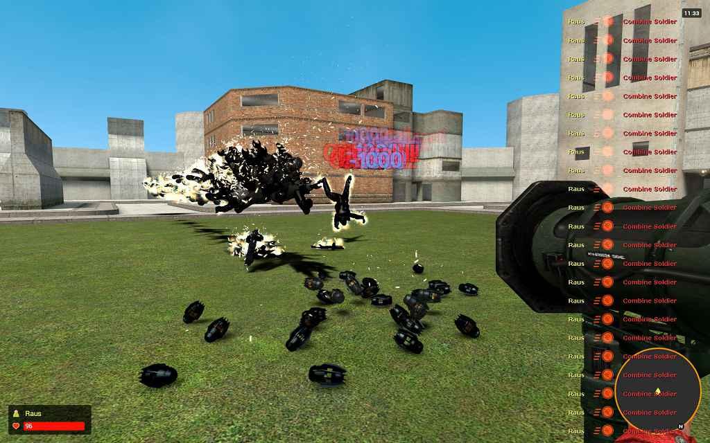Мод Garrys mod 13 — Спамер энергетических шаров