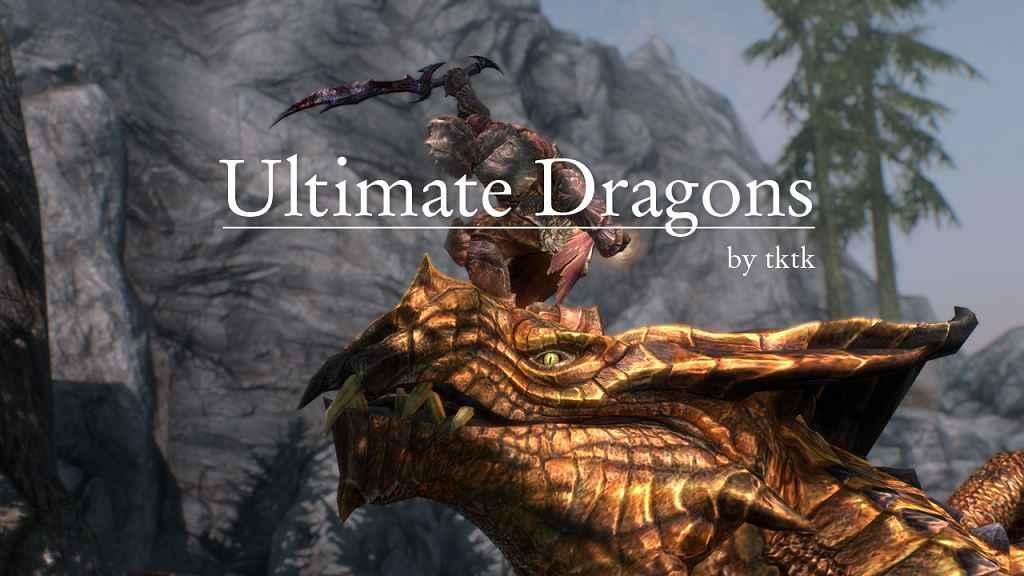 Мод Skyrim — Улучшенная Атака Драконов