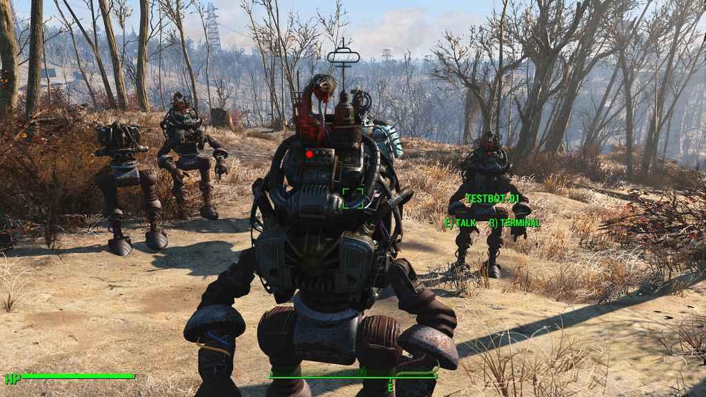 Fallout 4 — Автоматроны — бесконечное количество спутников