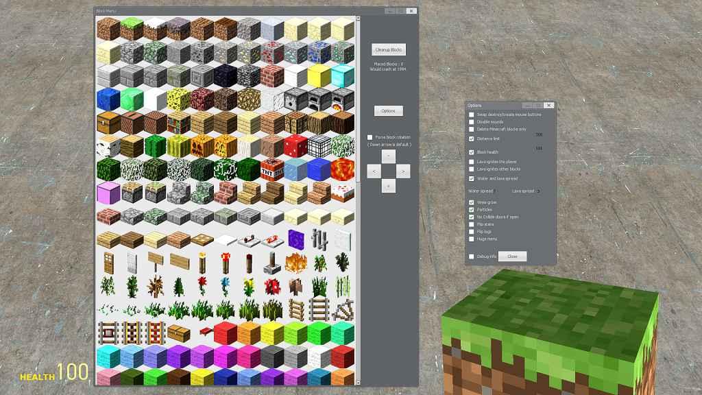 Мод Garrys mod 13 — Minecraft SWEP