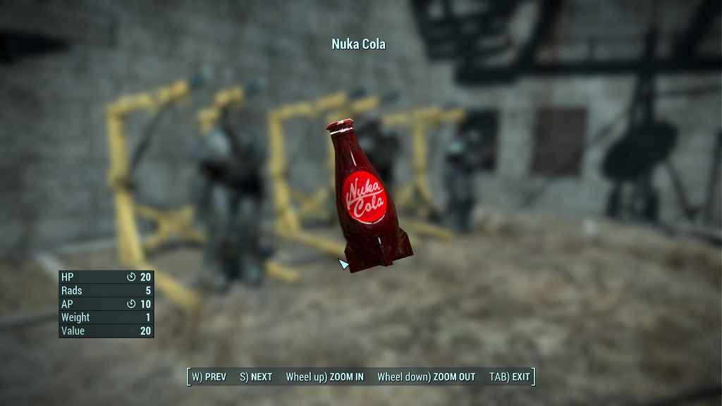 Fallout 4 — Новые текстуры для Нюка-Колы