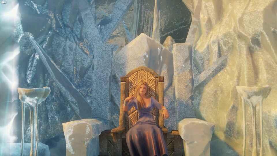 Мод Skyrim — Морозная королева Мелани