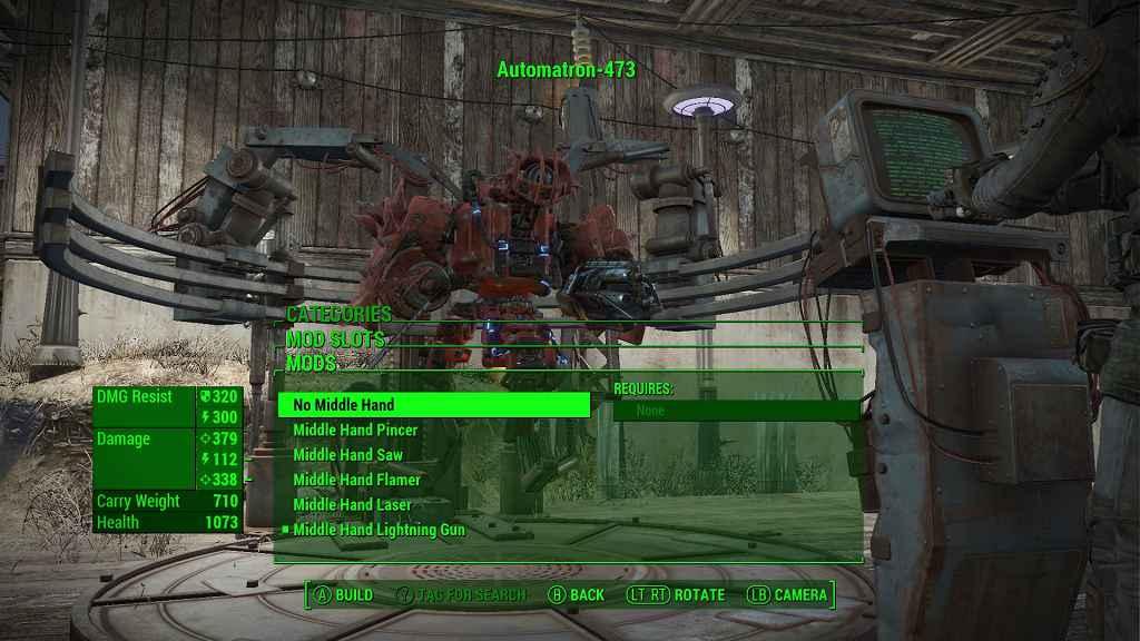 Мод Fallout 4 — Оружие Мистера Помощника (DLC Автоматрон)