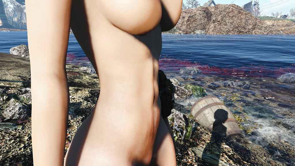 Мод Fallout 4 — Спортивный пресет тел для CBBE