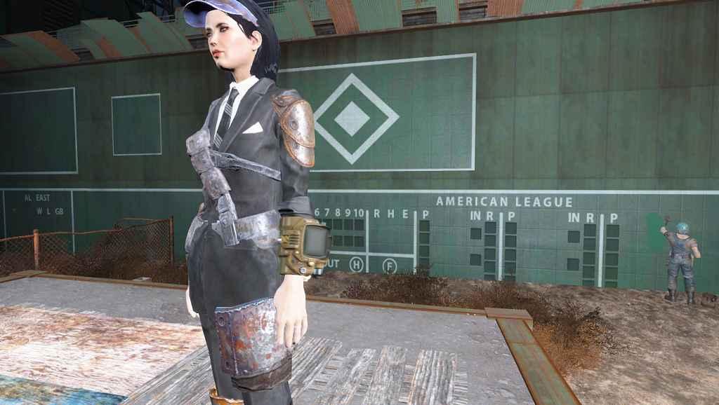 Мод Fallout 4 — Больше слотов для брони (броня поверх костюмов)