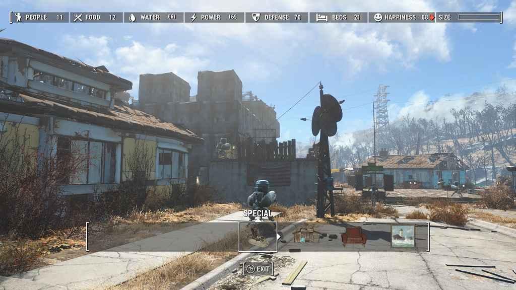 Мод Fallout 4 — Мод убирающий лимит на постройки в поселении
