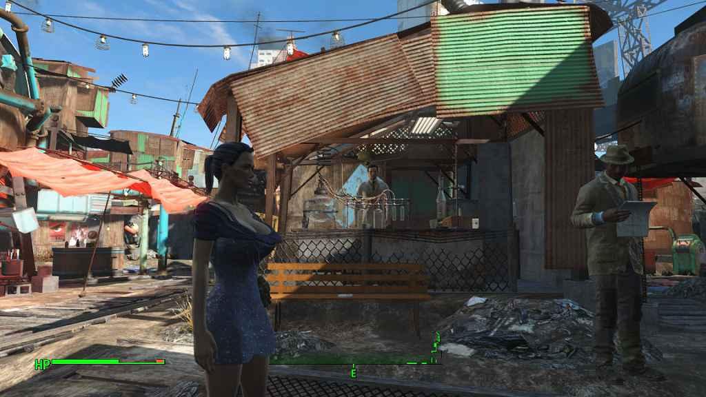 Fallout 4 — Реплейсер брони и одежды для девушек