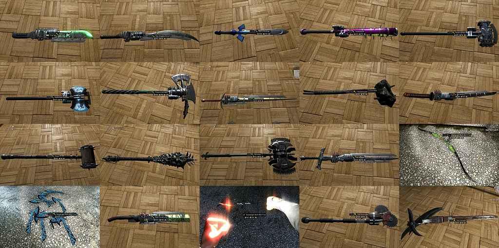 Модификация Dying Light — 58 новых модификаций оружия