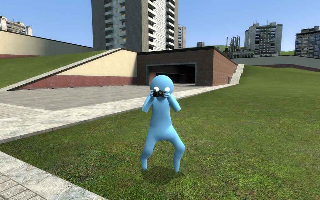 Мод Garrys mod 13 — Модель для игрока Gang Beasts