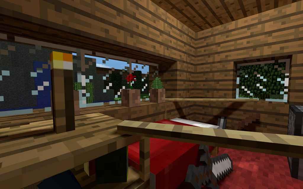 Мод Garrys mod 13 — Карта ttt_craftroom / Крафт-комната из Minecraft