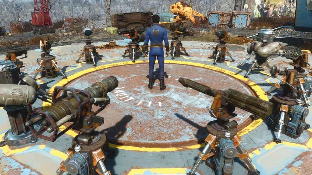 Мод Fallout 4 — Портативные турели