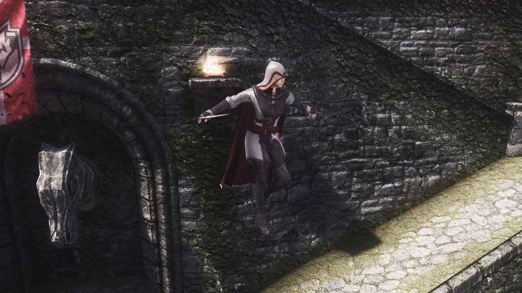 Мод Skyrim — Улучшенная анимация прыжка
