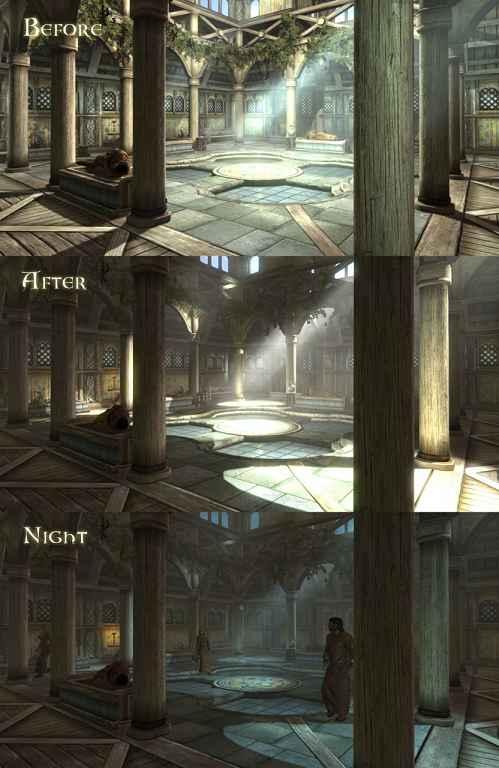 Skyrim — Enhanced Lights and FX  / Улучшенное освещение