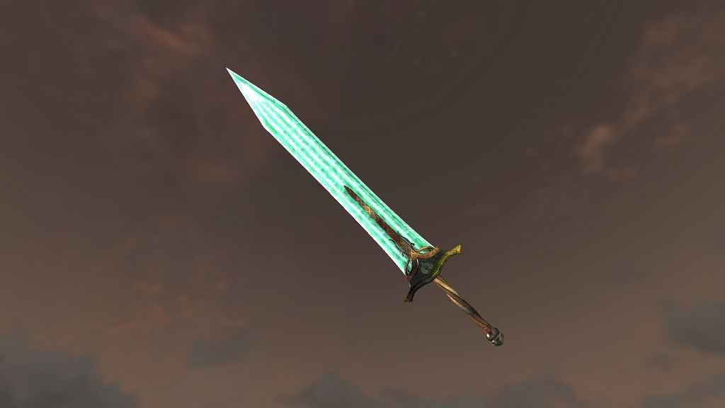 Мод Skyrim — Двуручные мечи из Dark Souls 2