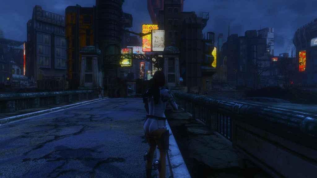 Мод Fallout 4 — Светящаяся реклама