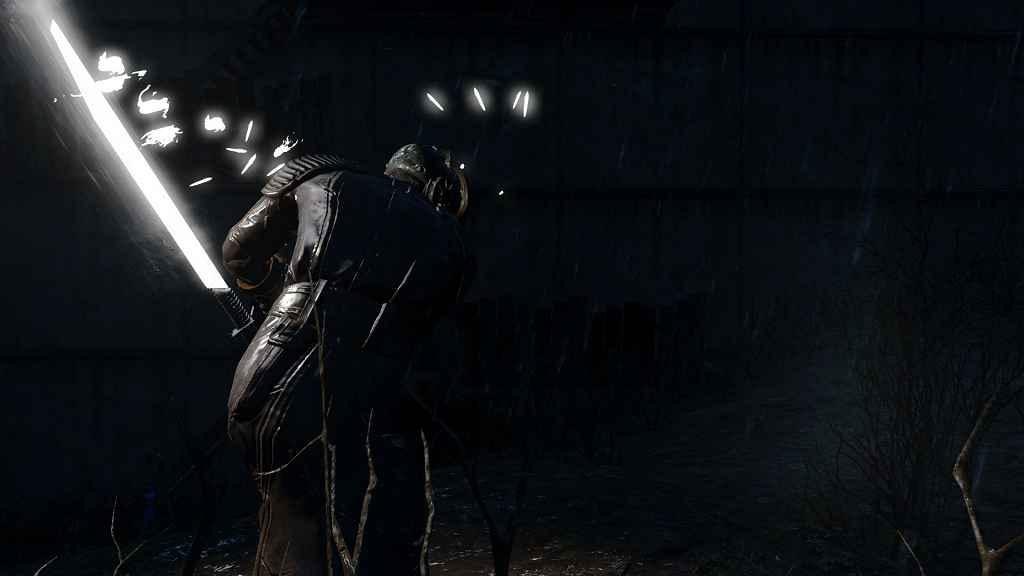 Мод Fallout 4 — Лазерный клинок