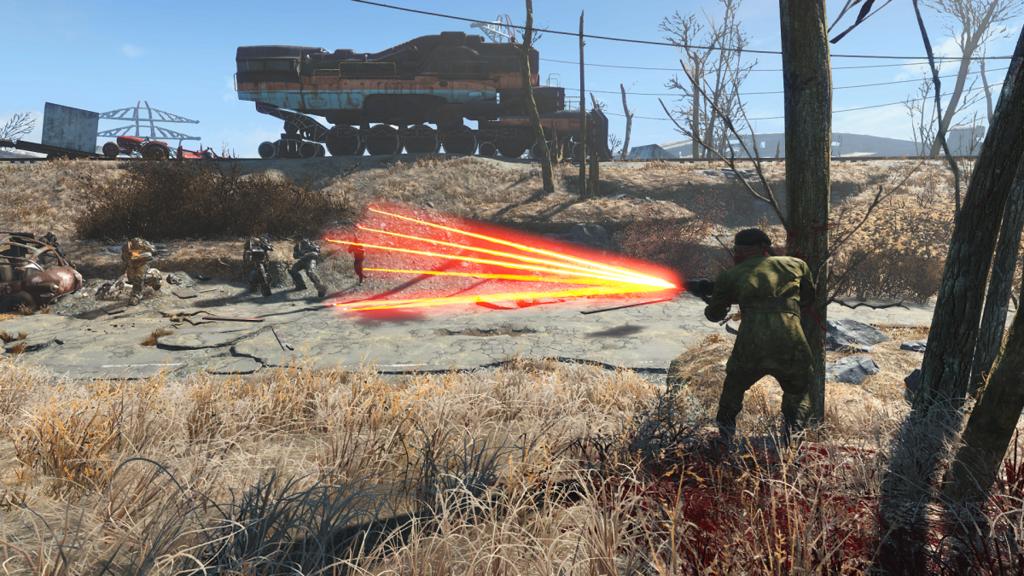 Мод Fallout 4 — Улучшенная точность стрельбы компаньонов