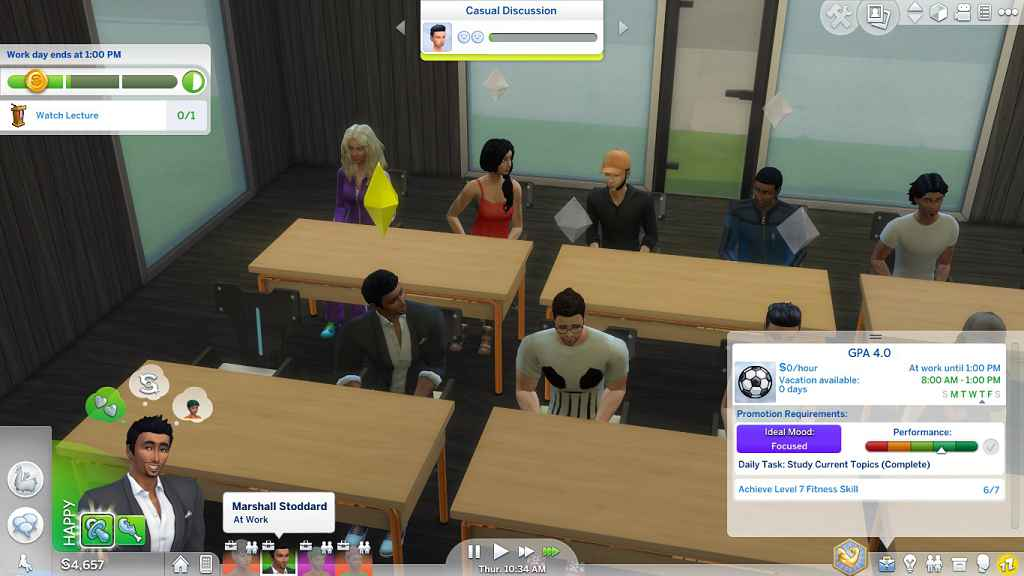 Модификация The Sims 4 — Университет (Get to College) (Обновлено)