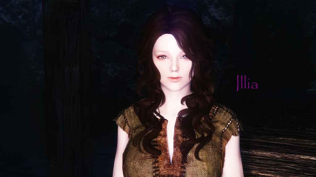 Мод Skyrim — Реплейсер внешности 17 девушек