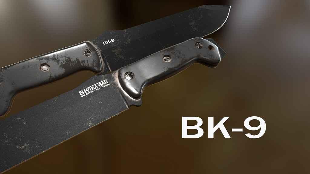 Мод Falloput 4 — Нож Ka-Bar Becker BK9