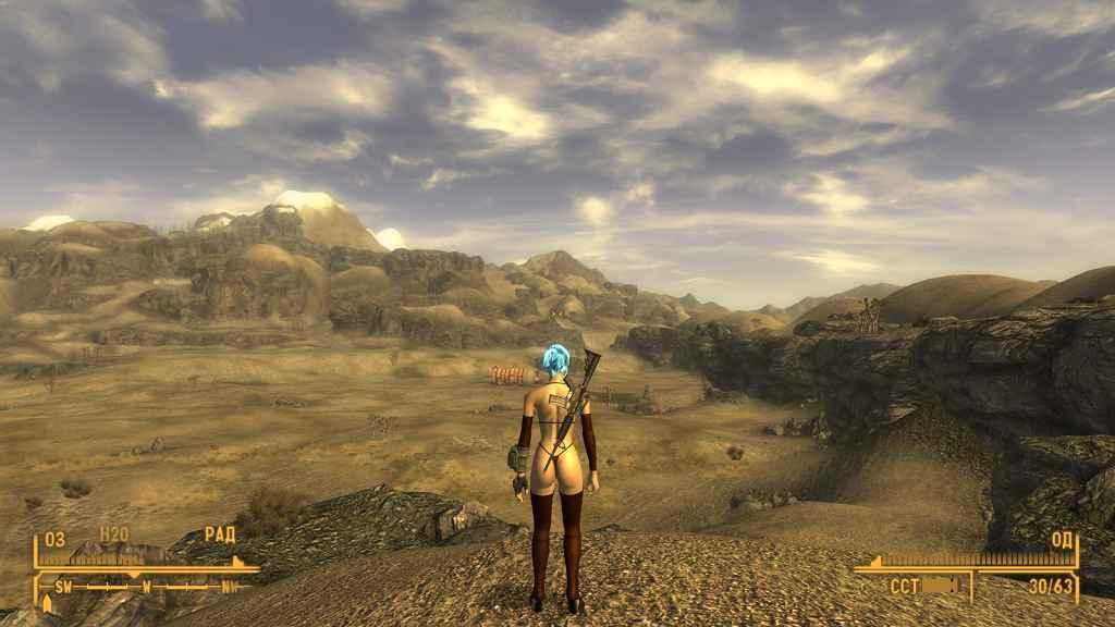 Мод Fallout NV — Броня бикини