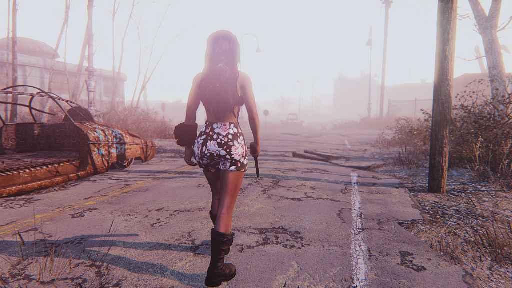 Мод Fallout 4 — Ретро одежда (CBBE)
