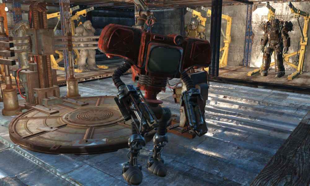 Мод Fallout 4 — Автоматрон Секьюритрон