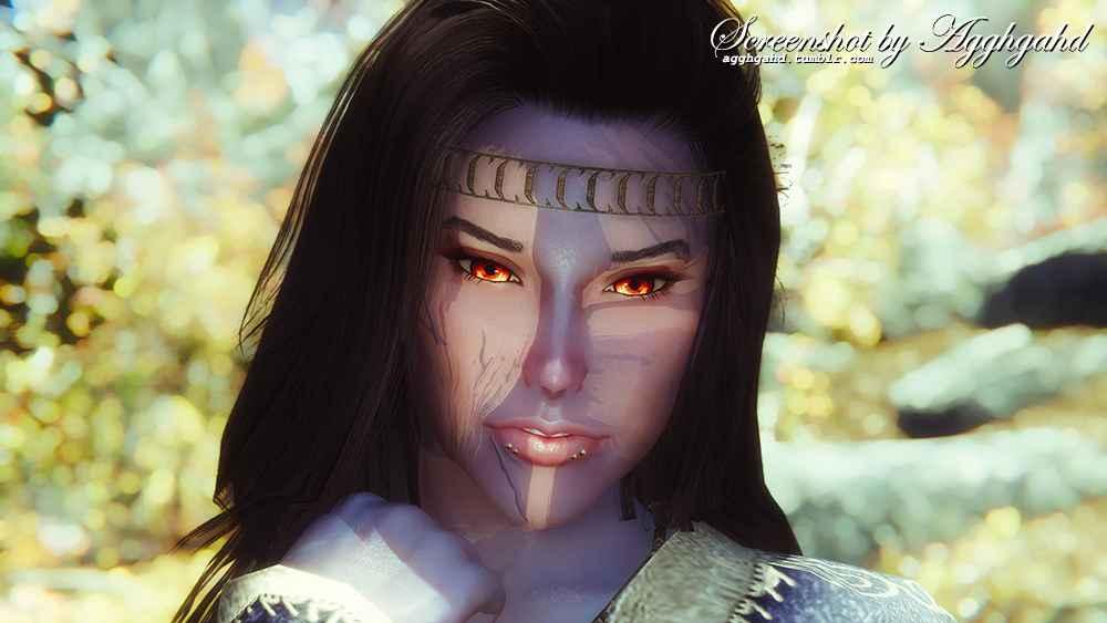 Мод Skyrim — 40 эльфийских глаз