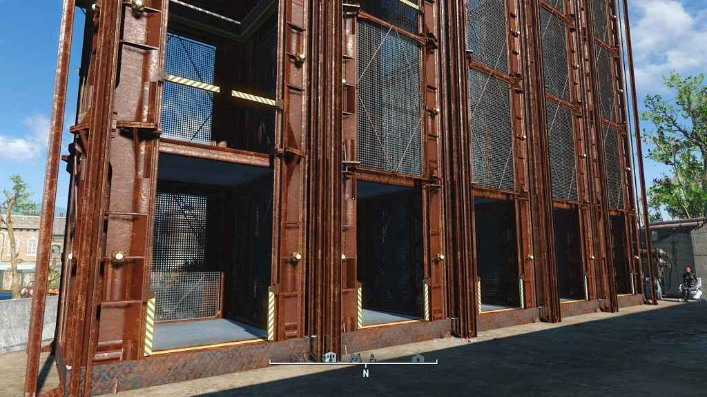 Мод Fallout 4 — Лифт