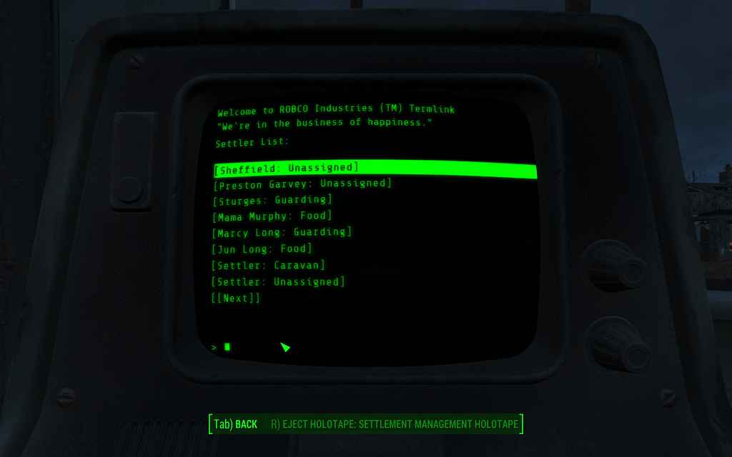Мод Fallout 4 — Мод для проверки статистики поселения