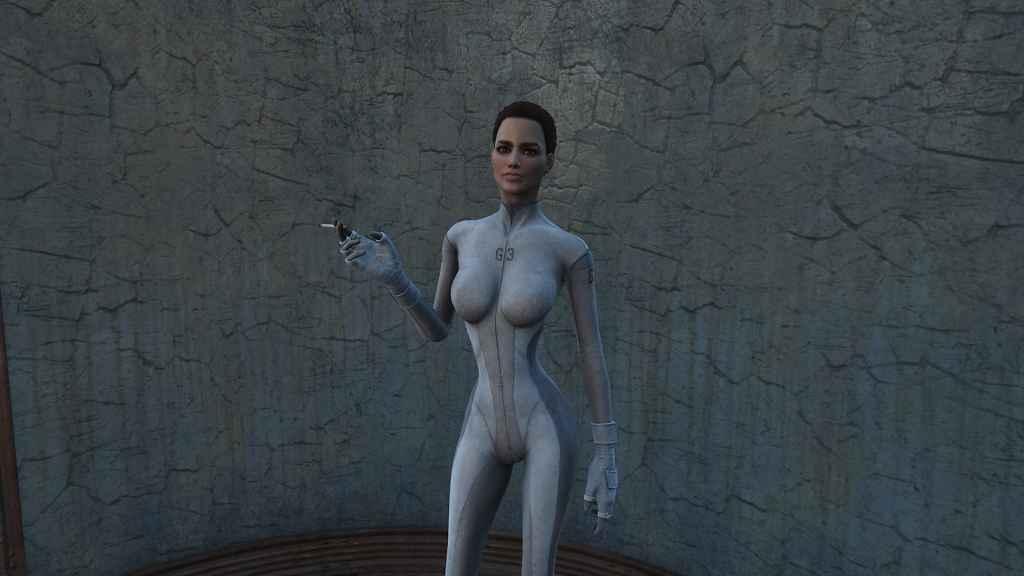 Мод Fallout 4 — Ретекстур костюма предвестника
