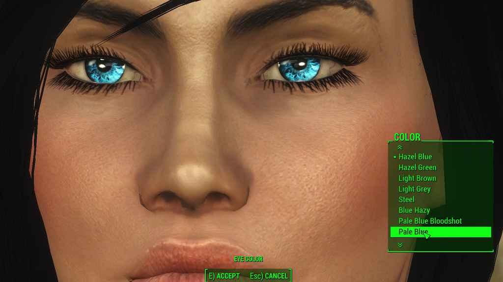 Мод Fallout 4 — Реплейсер глаз