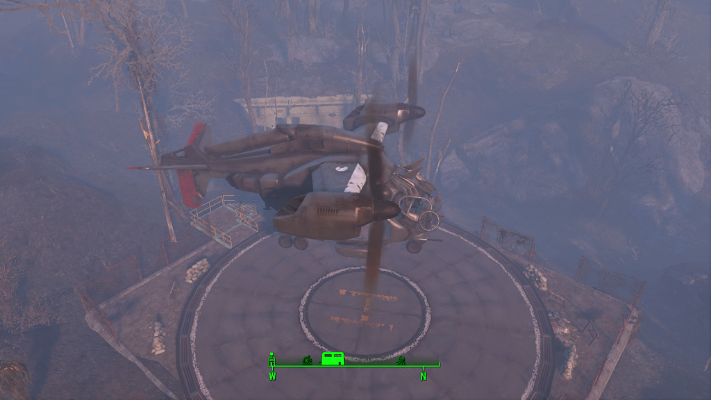 Мод Fallout 4 — Персональный винтокрыл