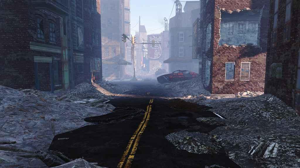 Fallout 4 — Реалистичные дороги