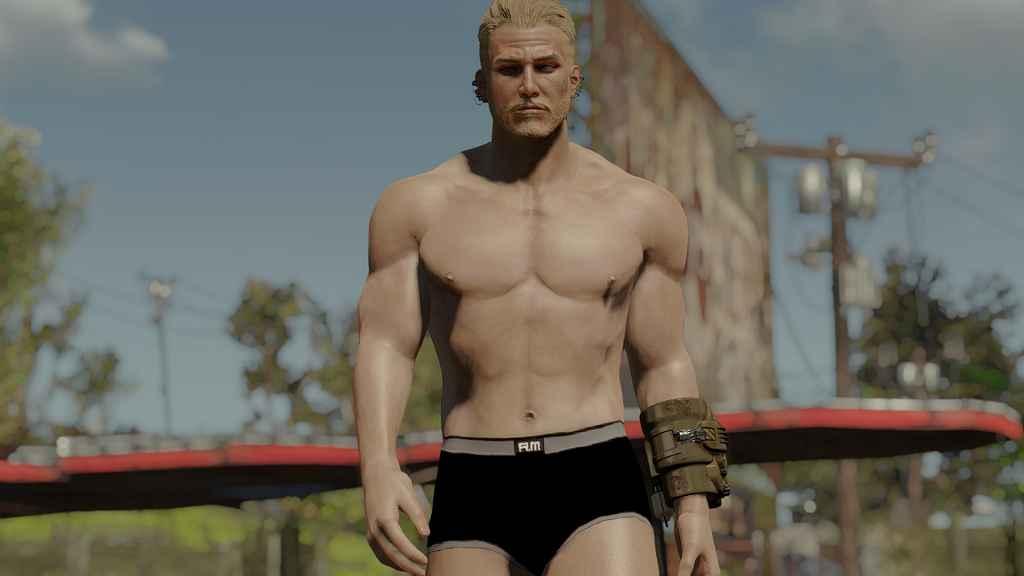 Мод Fallout 4 — реалистичные текстуры тел для мужчин