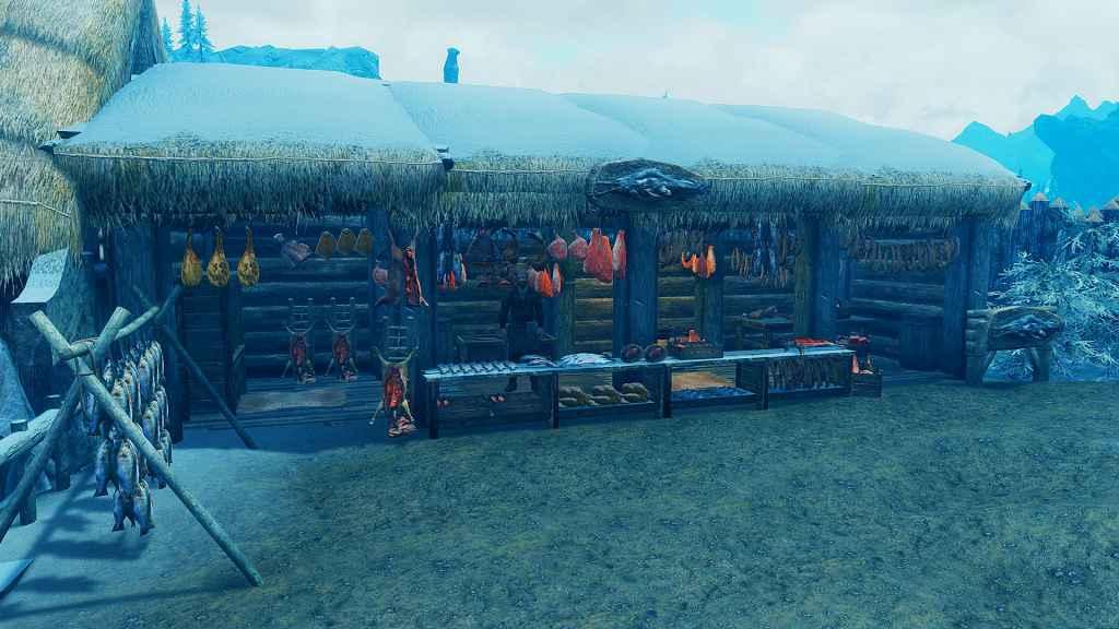 Мод Skyrim — Стань королем нового города Утгард!
