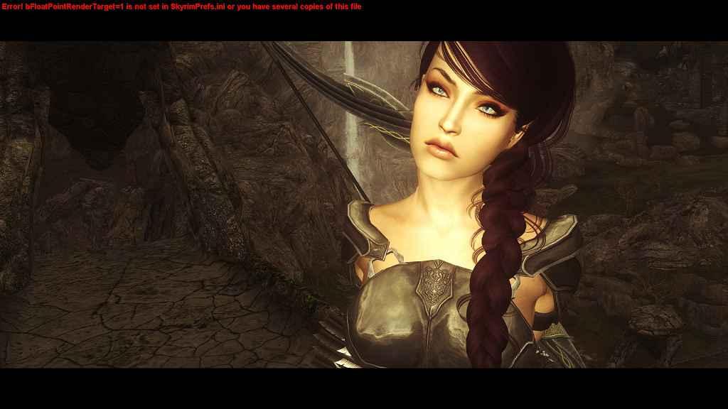 Мод Skyrim — Спутница Риель