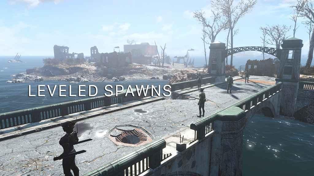 Мод Fallout 4 — Больше точек спавна врагов