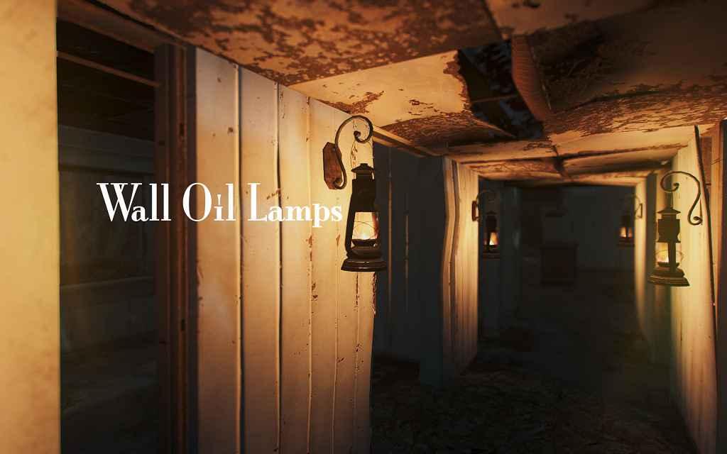 Мод Fallout 4 — Керосиновые лампы