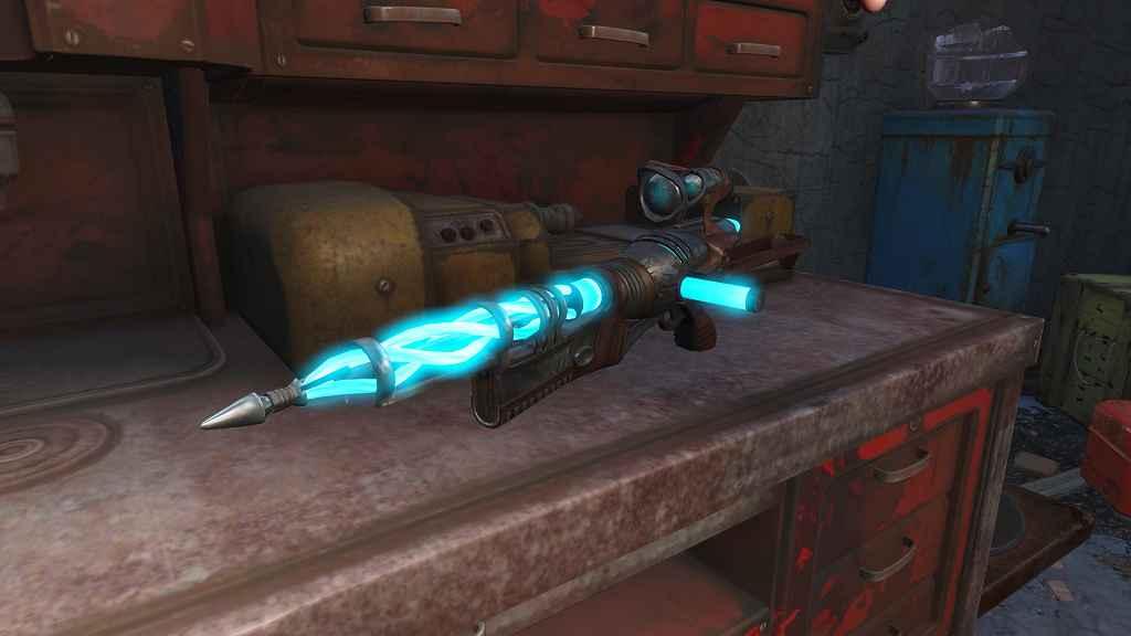 Мод Fallout 4 — Инопланетная штурмовая винтовка