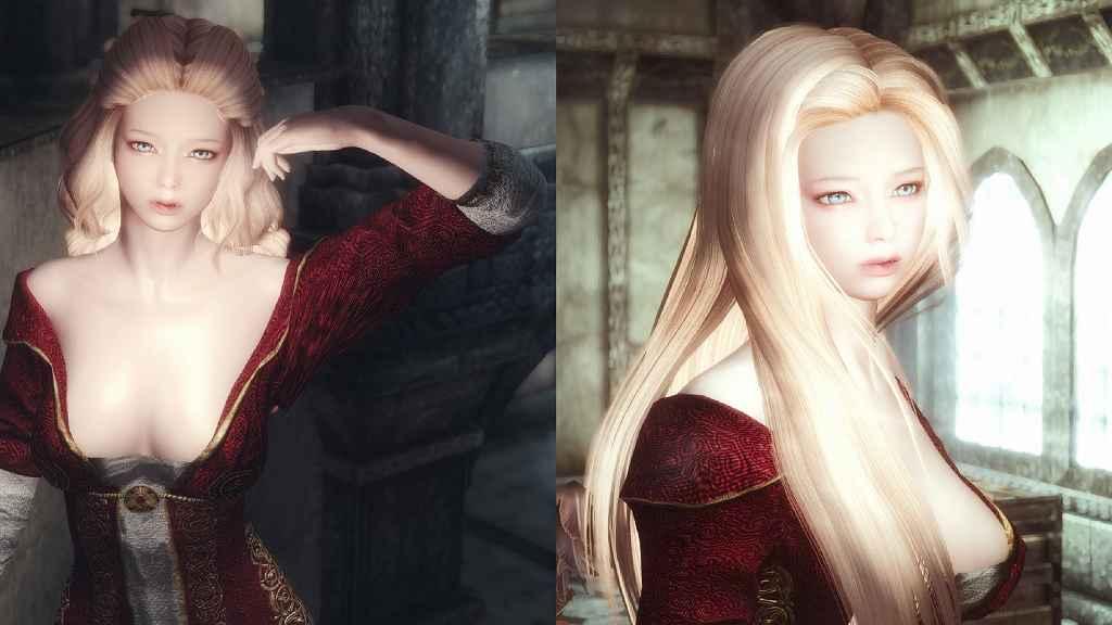 Мод Skyrim — Алиса-отшельница