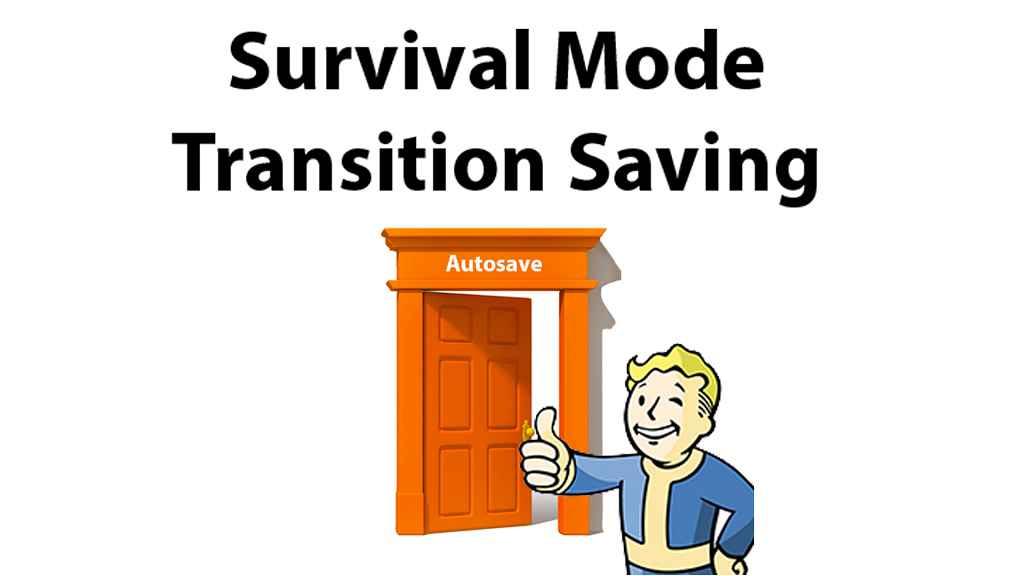 Мод Fallout 4 — Автосохранение в режиме выживания